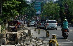 Perbaikan Jalur Pedestrian Didanai APBN