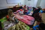 Posko Pengungsian PKS Banjir Pasien