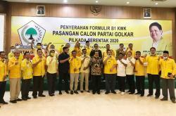Penetapan 53 Cakada di Sumatera dari Golkar Selesai