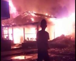Kebakaran di Panger, Warga Sempat Angkut Kulkas dan TV
