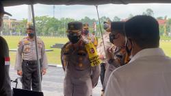 Di Mapolda Riau, Kabarhakam Polri Cek Kesiapan Antisipasi Karhutla