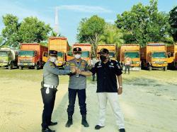Dishub Riau Kandangkan 11 Truk ODOL