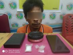 Pengedar Sabu Ditangkap Polisi saat Mancing