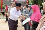 Plt Bupati Kampar Serahkan 1.368 Sertifikat Tanah