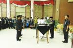 Catur Lantik Pejabat Fungsional