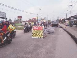 Perbaikan Jalan Syech Umar Telan Anggaran Rp3,1 Miliar