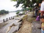 Pascabanjir, 180 Meter Turap Sungai Tarap Roboh