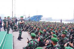 Pangdam Bukit Barisan Lepas 400 Personel ke Perbatasan Timor Leste