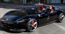 Ibrahimovic Kendarai Mobil Langka Ferrari