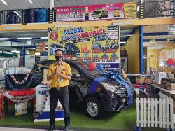 Global Bangunan Surprise Sediakan Dua Unit Mobil