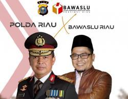 Awasi Politik Uang, Bawaslu dan Polda Riau Bakal Razia Besar-besaran