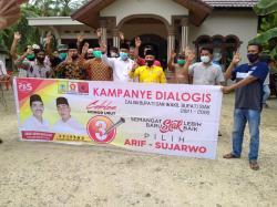 Azmi: Arif dan Sujarwo Kepercayaan Syamsuar