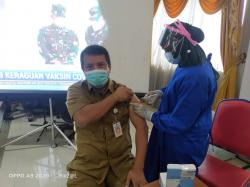 426 ASN Pemkab Inhu Tuntaskan Vaksinasi Covid-19 Tahap II
