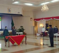 Masrul Kasmy Resmi Dilantik Jadi Pj Sekdaprov