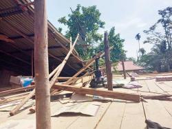 Dihantam Puting Beliung, 21 Rumah Rusak