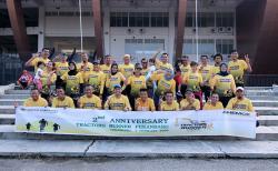 Komunitas Tractors Runners Pkb Tetap Silaturahmi lewat Online