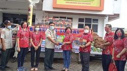 PSMTI Riau Salurkan 1,5 Ton Beras dan 300 Liter Minyak Goreng