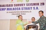 EMP Malacca Strait Sosialisasikan Seismik ke Pemkab Bengkalis