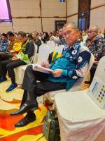 Wabup Inhil Hadiri  Konreg RPJMD di Medan