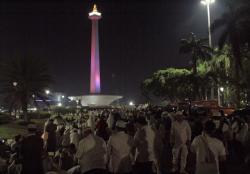 Anies Beri Sambutan di Reuni 212, Anies Diteriaki Presiden..!