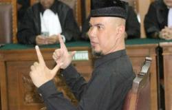 Ahmad Dhani Dituntut 1 Tahun 6 Bulan Penjara