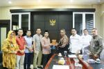 KPU Pekanbaru Silaturahmi dengan Pimpinan DPRD