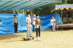 Kemeriahan HUT Ke-74 RI di Kelurahan Umban Sari, Rumbai