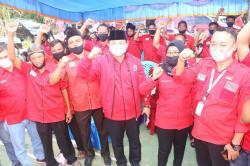 Halim Minta Kader PDIP Berjuang untuk Masyarakat