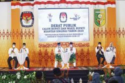 Debat Seru Paslon Pilkada Kuansing