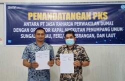 Jaminan Penumpang Kapal, PT Jasa Rajarja dan Operator Kapal Tandatangani MoU
