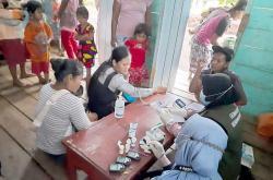 Pejuang Subuh Riau Gelar Suling dan Baksos