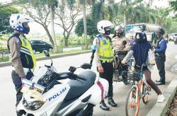 Tim Satgas Anti Begal Sepeda Diturunkan