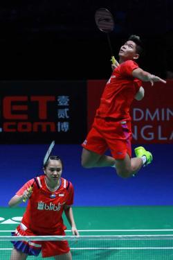 Luar Biasa, Ganda Indonesia ke Semifinal