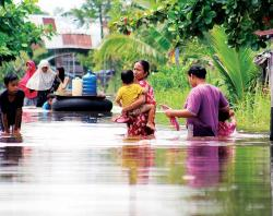 Banjir Meninggi, Jembatan Siak IV Ditutup