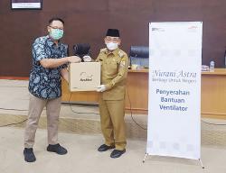 PT Sari Lembah Subur Serahkan Ventilator Tangani Covid-19