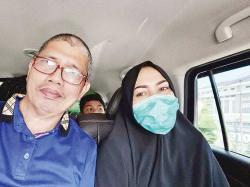 Khairuddin Jemput Langsung Ervina ke Magetan
