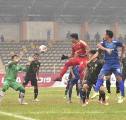 PSPS Lesatkan Gol Cepat ke Gawang Babel United