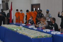 Berkarung-Karung Sabu Total 108 Kg Diamankan Polda Riau di Tiga Lokasi