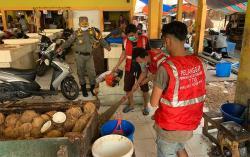 Langgar Prokes, 35 Orang Terjaring di Pasar