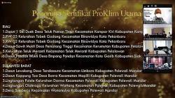 Desa Binaan PT RAPP Terima Sertifikat Proklim Utama