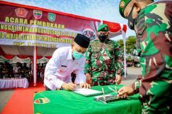 Dukung TMMD, Pemko Salurkan Rp750 Juta