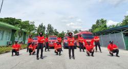 Meski Pandemi Corona, Tim Firefighter RAPP Terus Siaga Karhutla