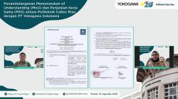 Jalin Kerja Sama, PCR Gandeng PT Yokogawa Indonesia