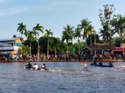 Pacu Perahu di Aur Duri Akan jadi Agenda Rutin