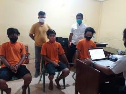 Tiga Warga Perawang Ditangkap karena Edarkan Sabu