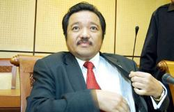 Ketua Fraksi Golkar MPR Kunjungi Pengurus Desa di Inhu