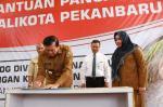 Wako Luncurkan Bantuan Pangan Non Tunai