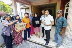 IKM Kampung Berseri Astra  Indah Madani Berbagi Takjil