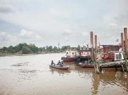Sungai Siak Makin Memprihatinkan