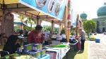 Masjid An-Nur Sediakan 60 Tenda Bazar Ramadan